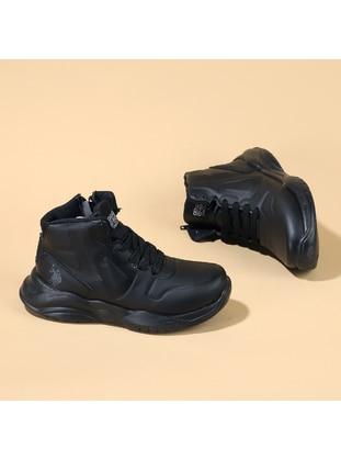 Black - Boys` Shoes - U.S. Polo