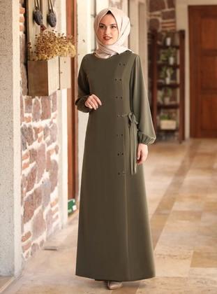Khaki - Evening Abaya
