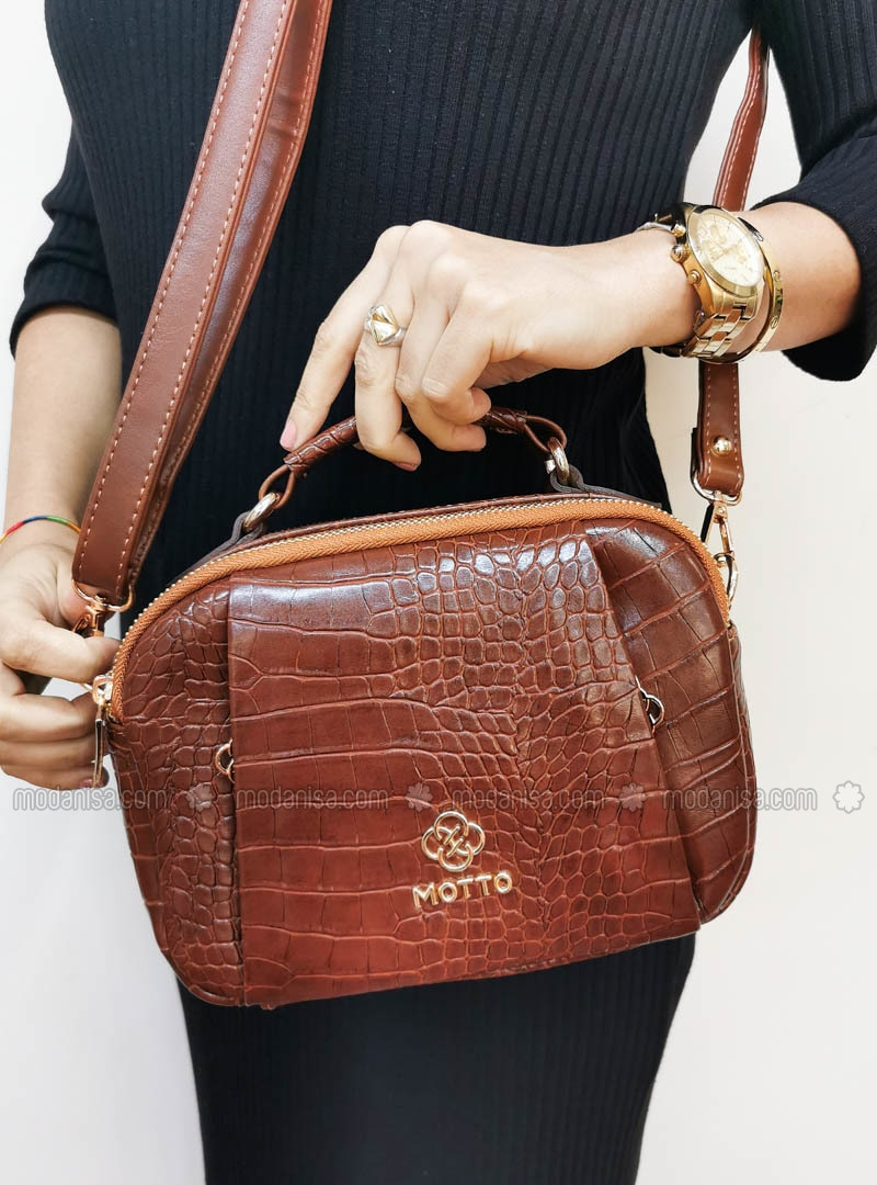 Tan - Crossbody - Satchel - Clutch Bags / Handbags
