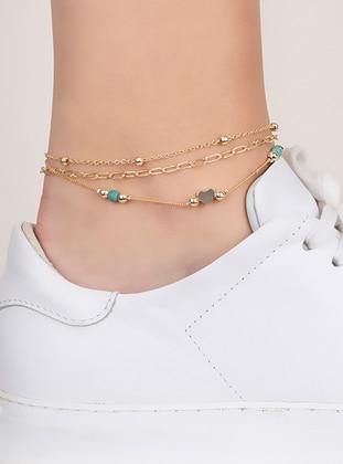 Blue - Anklet