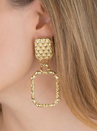 Gold - Yellow - Earring