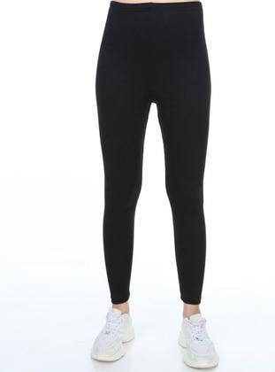 Black - Legging - Ladymina Pijama