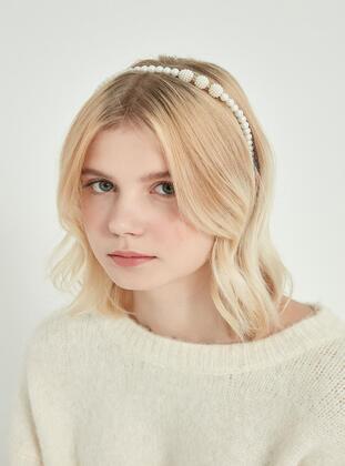 Cream - Hair Accessory