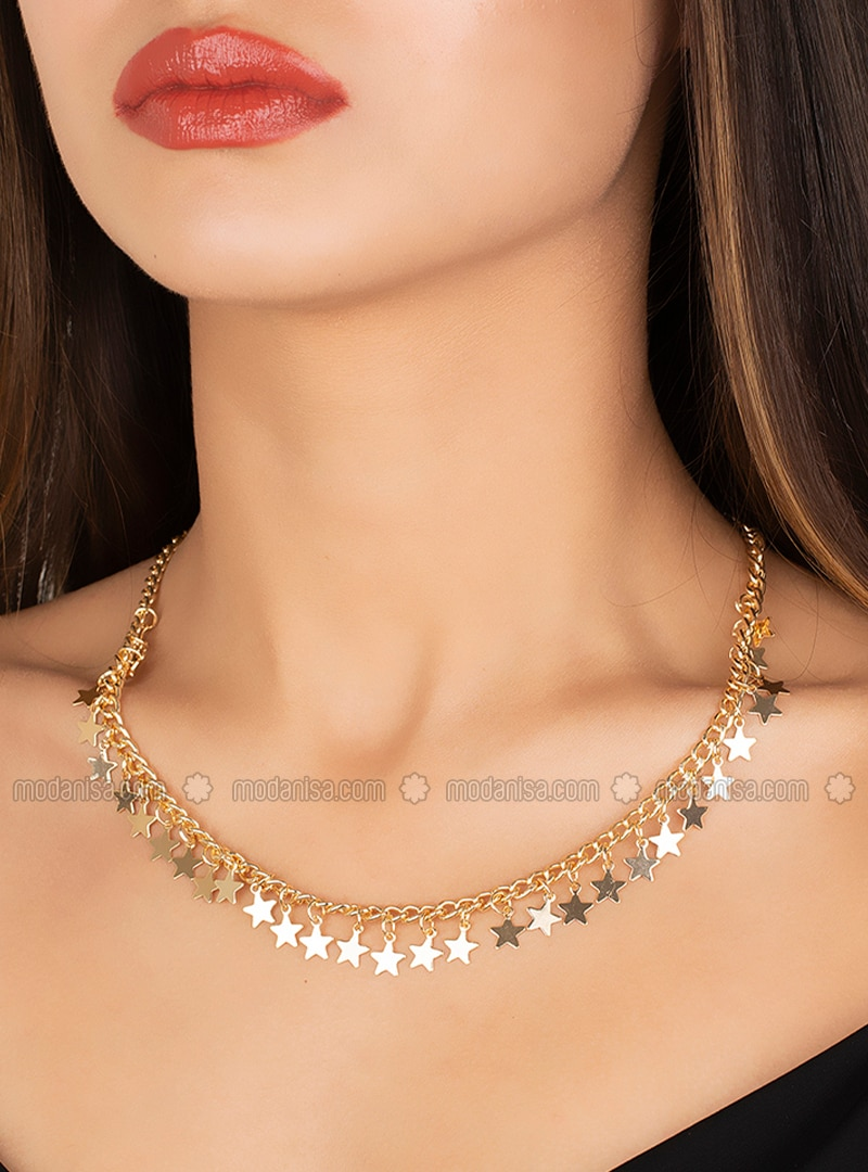 Gold - Yellow - Necklace