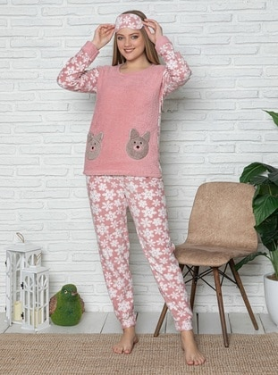 Powder - Crew neck - Multi - Pyjama Set