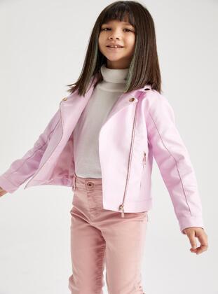 Purple - Girls` Jacket - DeFacto