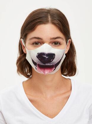 White - Mask