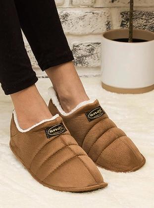 Tan - Home Shoes - Snox
