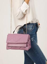 Purple - Crossbody - Satchel - Shoulder Bags