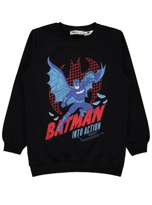Black - Boys` Sweatshirt