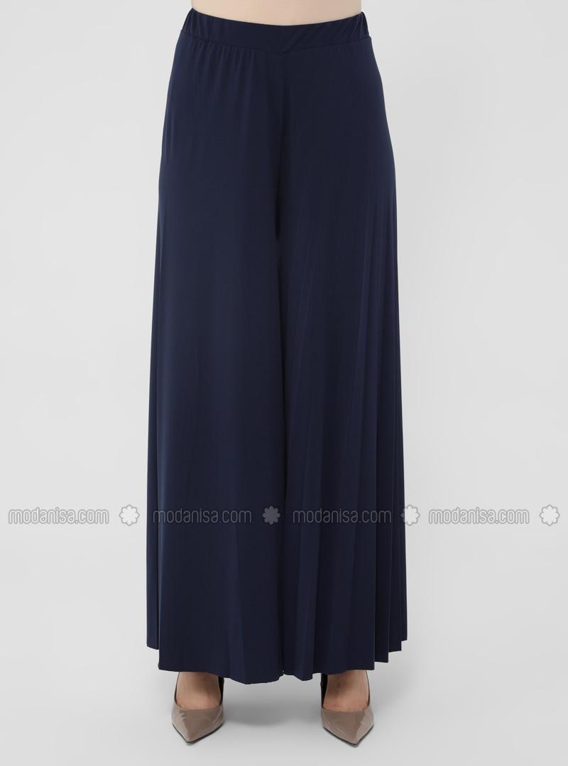K1702 Women/'s Wide leg linen skirt pantsplus size trousersgrey dark blue oversized casual customized trousersblack asymmetrical pants