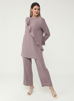 Lilac - Plus Size Pants