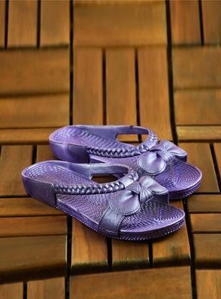 Purple - Sandal - Slippers