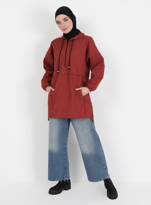 Terra Cotta - Fully Lined - Trench Coat
