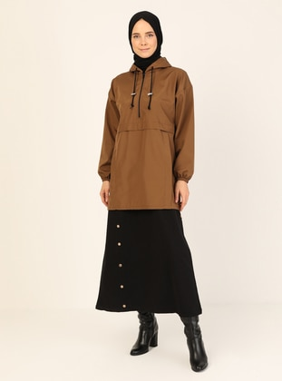 Tan - Fully Lined - Trench Coat