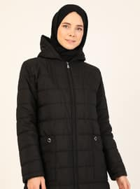 Black - Fully Lined - Puffer Jackets
