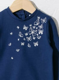 Navy Blue - Baby Suit