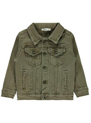 Khaki - Boys` Jacket - Civil