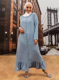 Oversize Dress - Ice Blue