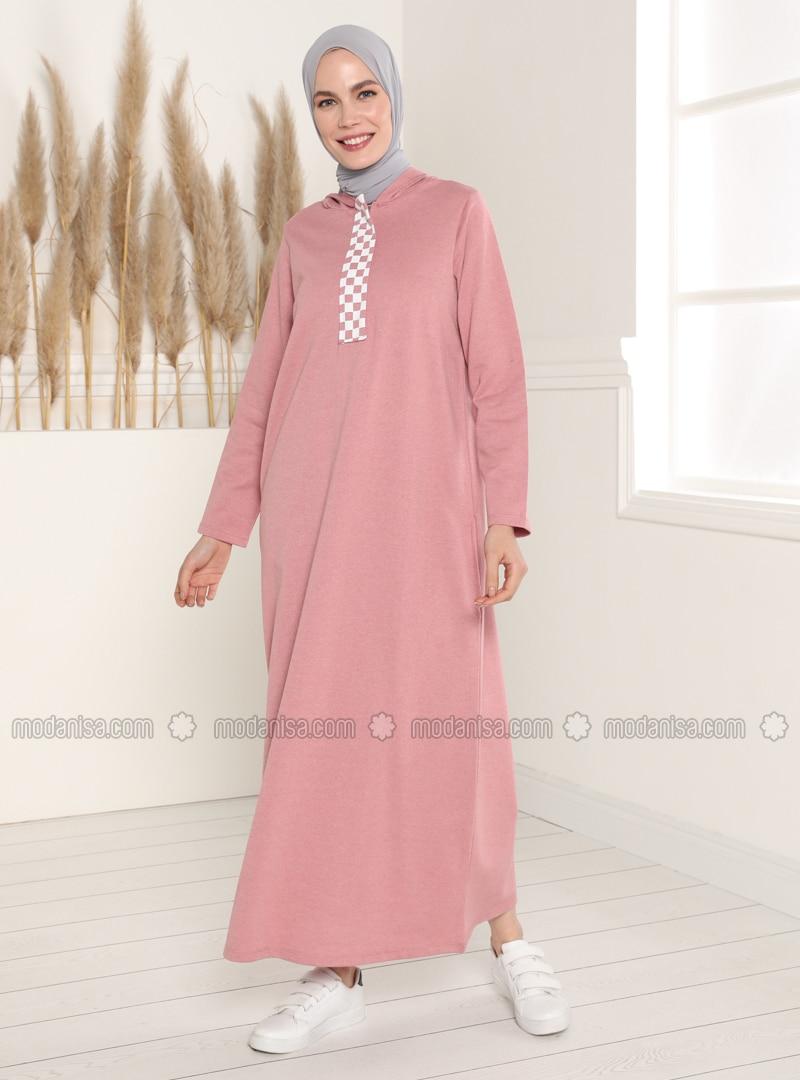 Dusty Rose - Unlined - Modest Dress