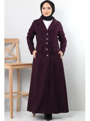 Plum - Coat