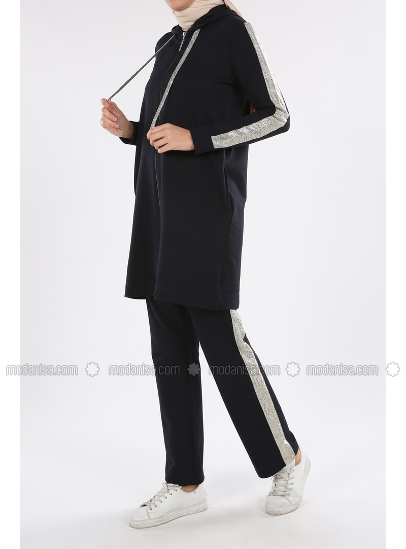 Navy Blue - Suit - Allday