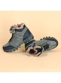 Khaki - Boys` Boots