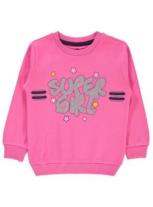 Fuchsia - Girls` Sweatshirt - Civil