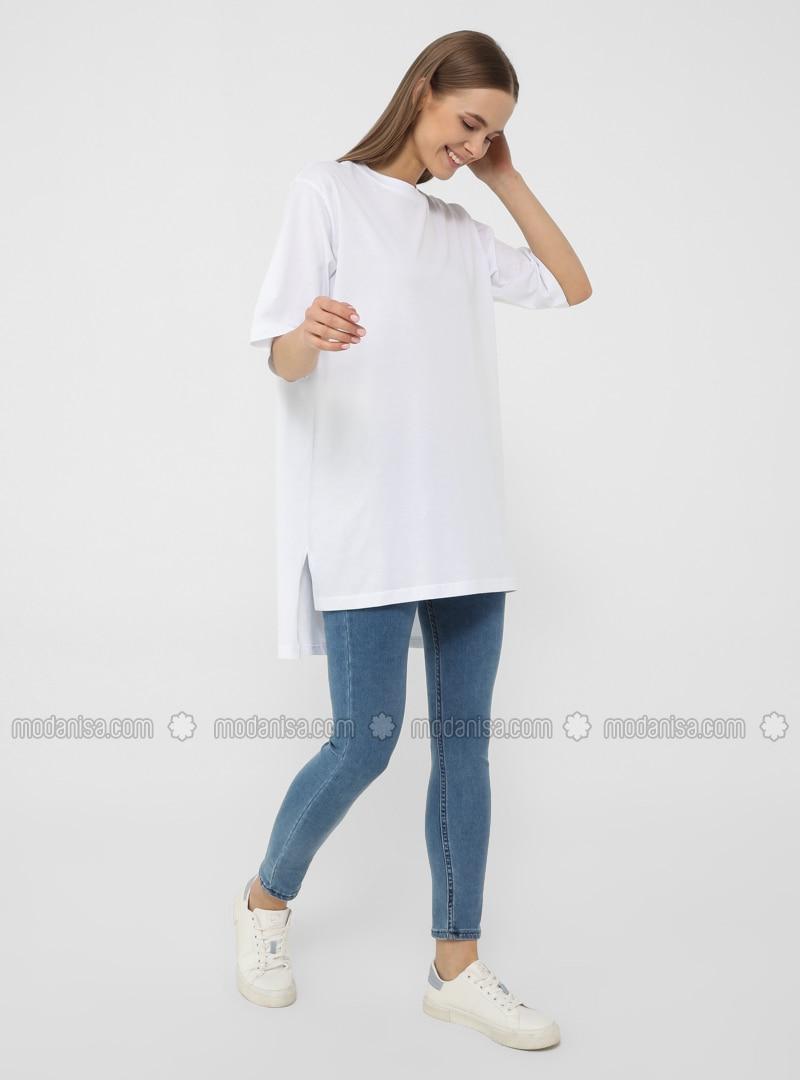 White - White - T-Shirt