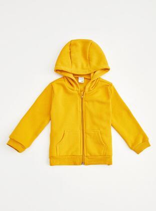 Yellow - Baby Cardigan