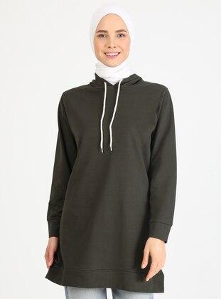 Khaki - Sweat-shirt