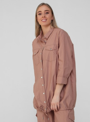 Spice - Point Collar - Unlined - Plus Size Jacket