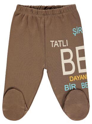 Brown - Baby Bottomwear