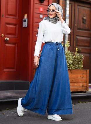 Blue - Culottes