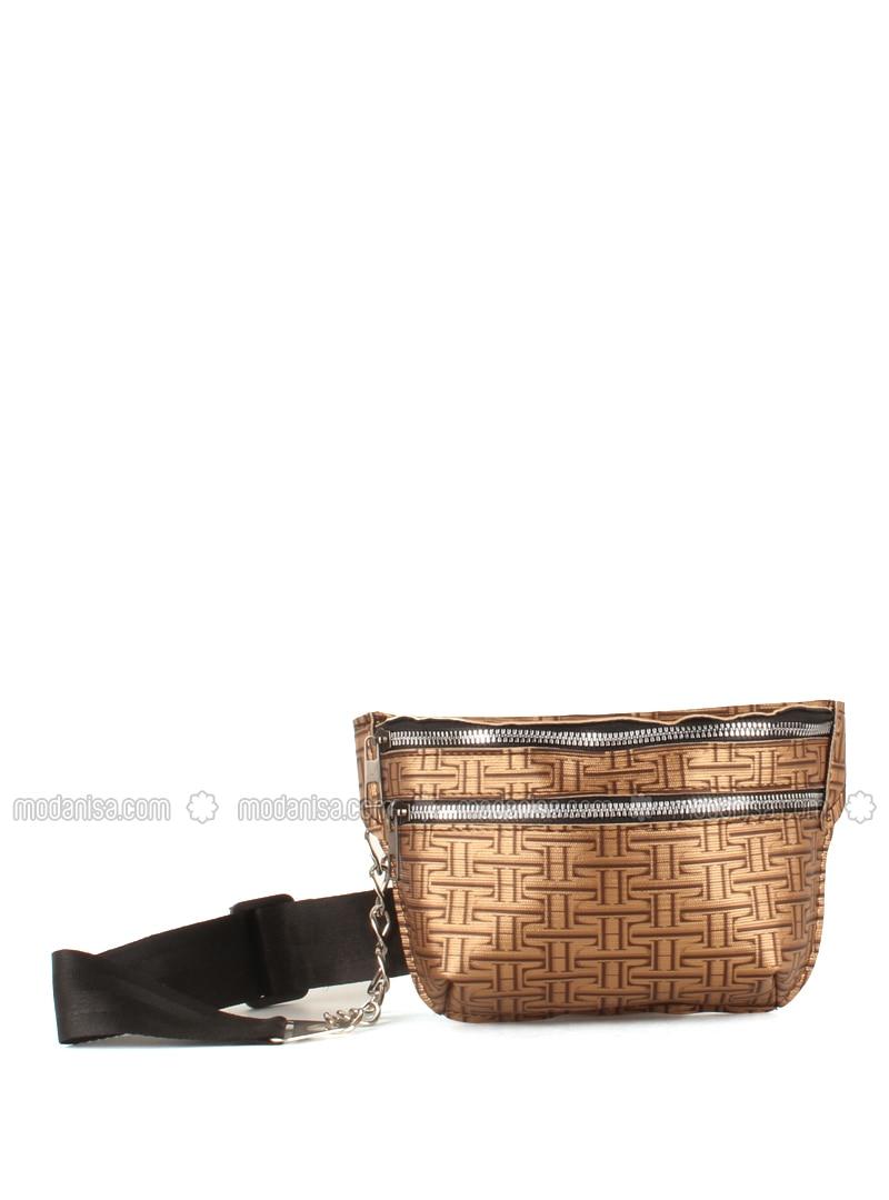Brown - Crossbody - Bum Bag