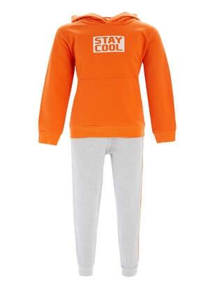 Orange - Boys` Suit