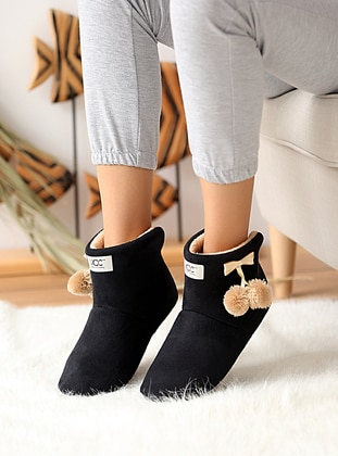 Casual - Black - Home Shoes