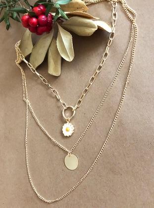 Gold - Necklace - Takıtakılar