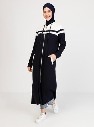 Navy Blue - Unlined - Dress