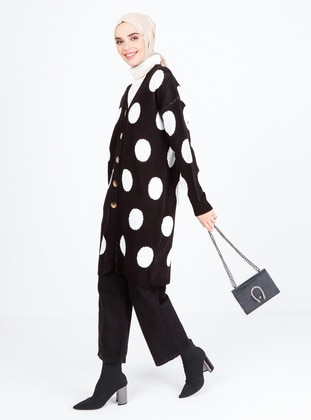 Black - Multi - Unlined - Knit Cardigans