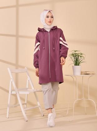 Purple - Unlined - Puffer Jackets