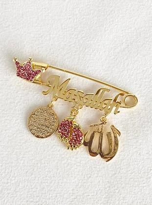 Gold - Brooch