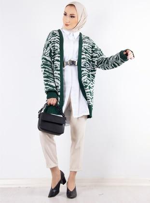 Emerald - Zebra - Unlined - Knit Cardigans