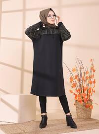 Multi - Khaki - Sweat-shirt