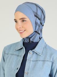 Blue - Sports Bonnet
