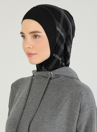 Gray - Black - Sports Bonnet