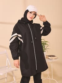 Black - Unlined - Puffer Jackets