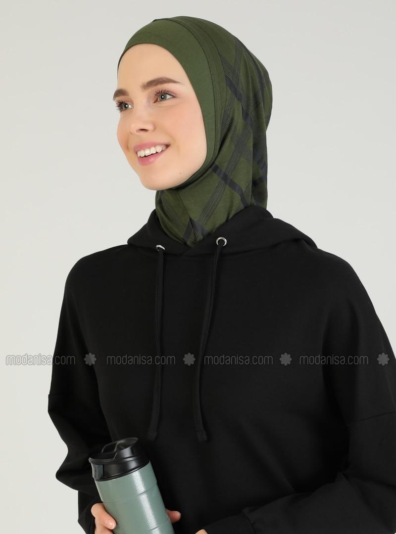 Khaki - Sports Bonnet