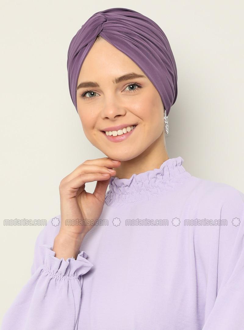 Lilac - Plain - Instant Scarf