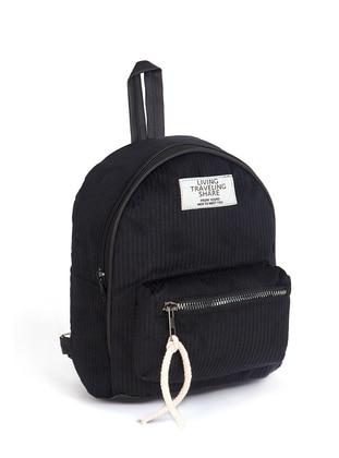 Black - Backpack - Backpacks - AKZEN